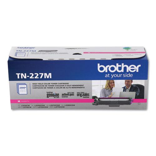 TN227M High-Yield Toner, 2300 Page-Yield, Magenta. Picture 3