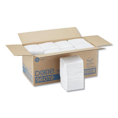 Beverage Napkins, Single-Ply, 9 1/2 x 9 1/2, White, 4000/Carton. Picture 4