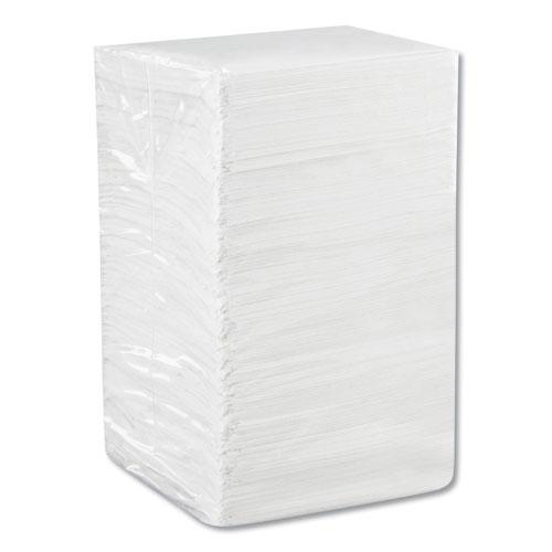Beverage Napkins, Single-Ply, 9 1/2 x 9 1/2, White, 4000/Carton. Picture 6