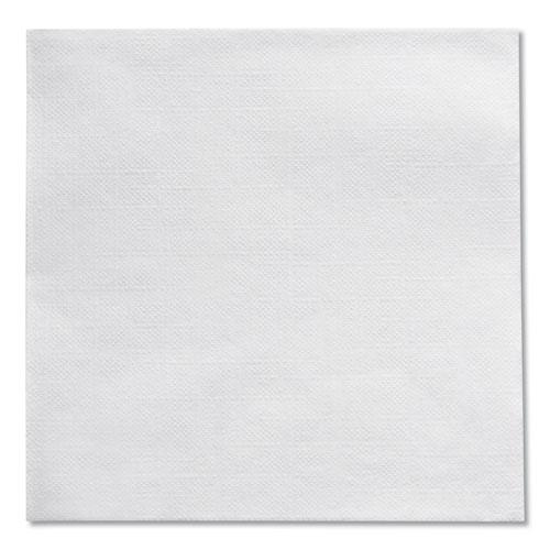 Beverage Napkins, Single-Ply, 9 1/2 x 9 1/2, White, 4000/Carton. Picture 8