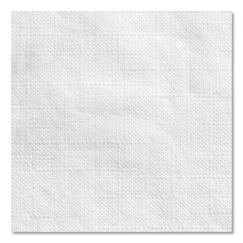 Beverage Napkins, Single-Ply, 9 1/2 x 9 1/2, White, 4000/Carton. Picture 9