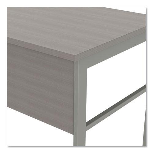 "Urban Series L- Shaped Desk, 59"" x 59"" x 29.5"", Ash. Picture 8"