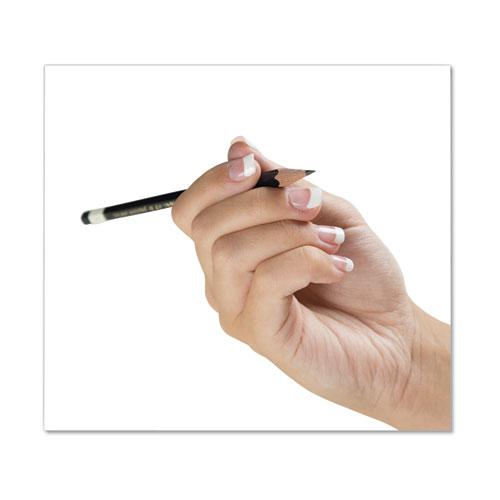 Drawing Pencil Set with Eraser, 2 mm, Assorted Lead Hardness Ratings, Black Lead, Black Barrel, 6/Pack. Picture 2