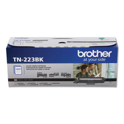 TN223BK Toner, 1400 Page-Yield, Black