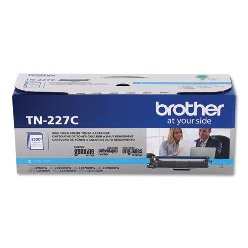 TN227C High-Yield Toner, 2300 Page-Yield, Cyan. Picture 2