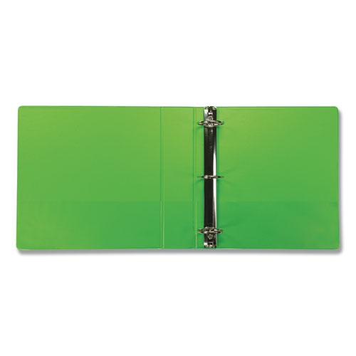 """Earth's Choice Biobased Durable Fashion View Binder, 3 Rings, 2"""" Capacity, 11 x 8.5, Lime, 2/Pack. Picture 4"""