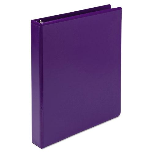 """Earth's Choice Biobased Durable Fashion View Binder, 3 Rings, 1"""" Capacity, 11 x 8.5, Purple, 2/Pack. Picture 8"""
