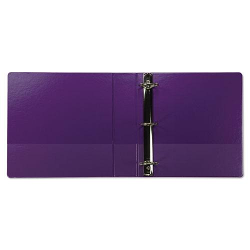 """Earth's Choice Biobased Durable Fashion View Binder, 3 Rings, 2"""" Capacity, 11 x 8.5, Purple, 2/Pack. Picture 2"""