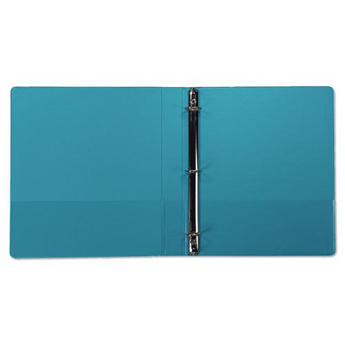 """Earth's Choice Biobased Durable Fashion View Binder, 3 Rings, 1"""" Capacity, 11 x 8.5, Turquoise, 2/Pack. Picture 3"""