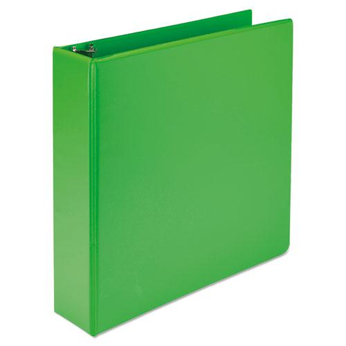"""Earth's Choice Biobased Durable Fashion View Binder, 3 Rings, 2"""" Capacity, 11 x 8.5, Lime, 2/Pack. Picture 8"""