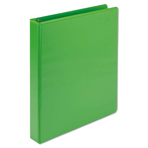 """Earth's Choice Biobased Durable Fashion View Binder, 3 Rings, 1"""" Capacity, 11 x 8.5, Lime, 2/Pack. Picture 4"""