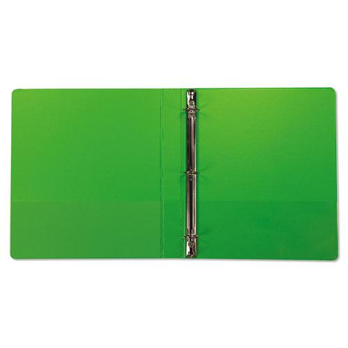 """Earth's Choice Biobased Durable Fashion View Binder, 3 Rings, 1"""" Capacity, 11 x 8.5, Lime, 2/Pack. Picture 7"""