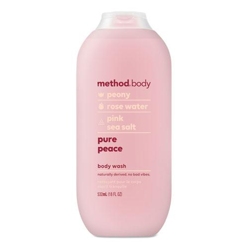 Womens Body Wash, 18 oz, Peony/Rose Water/Pink Sea Salt, 6/Carton. Picture 1