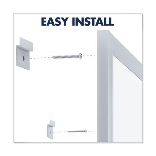 Classic Series Total Erase Dry Erase Board, 96 x 48, Silver Aluminum Frame. Picture 10