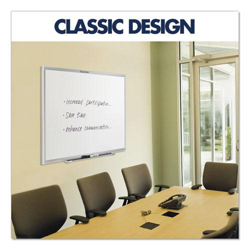 Classic Series Total Erase Dry Erase Board, 96 x 48, Silver Aluminum Frame. Picture 3