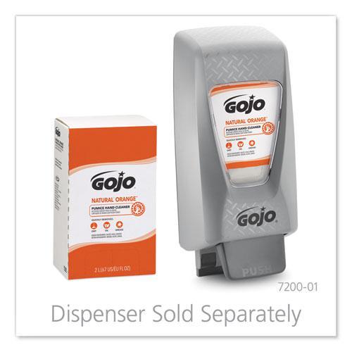 NATURAL ORANGE Pumice Hand Cleaner Refill, Citrus Scent, 2,000mL, 4/Carton. Picture 5
