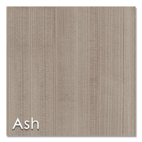 "Urban Series L- Shaped Desk, 59"" x 59"" x 29.5"", Ash. Picture 10"