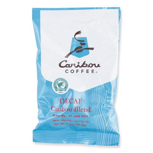 Decaf Caribou Blend Coffee Fractional Packs, 2.5 oz, 18/Carton. Picture 1