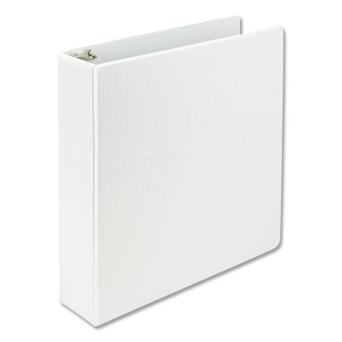 """Earth's Choice Biobased D-Ring View Binder, 3 Rings, 2"""" Capacity, 11 x 8.5, White. Picture 5"""