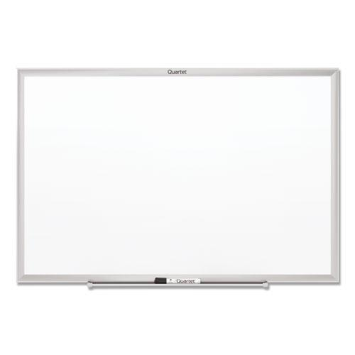 Classic Series Total Erase Dry Erase Board, 96 x 48, Silver Aluminum Frame. Picture 2