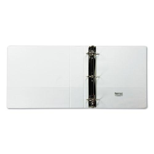 """Earth's Choice Biobased D-Ring View Binder, 3 Rings, 2"""" Capacity, 11 x 8.5, White. Picture 6"""