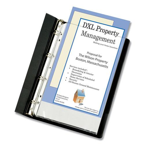 """Heavyweight Poly Sheet Protectors, Clear, 2"""", 14 x 8 1/2, 50/Box. Picture 1"""