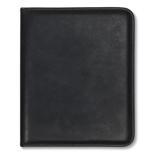 Professional Padfolio, Storage Pockets/Card Slots, Writing Pad, Black. Picture 3