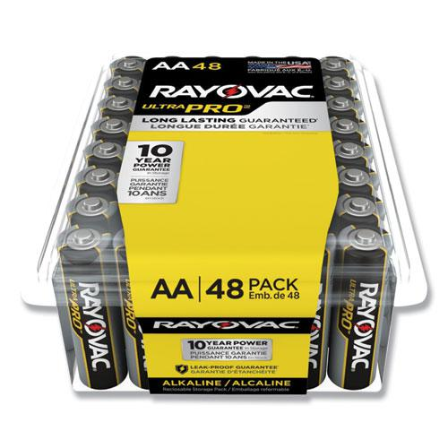 Ultra Pro Alkaline AA Batteries, 48/Pack. Picture 1