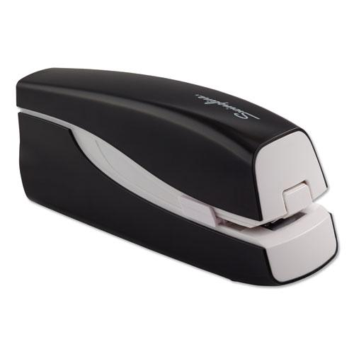 Portable Electric Stapler, 20-Sheet Capacity, Black. Picture 7