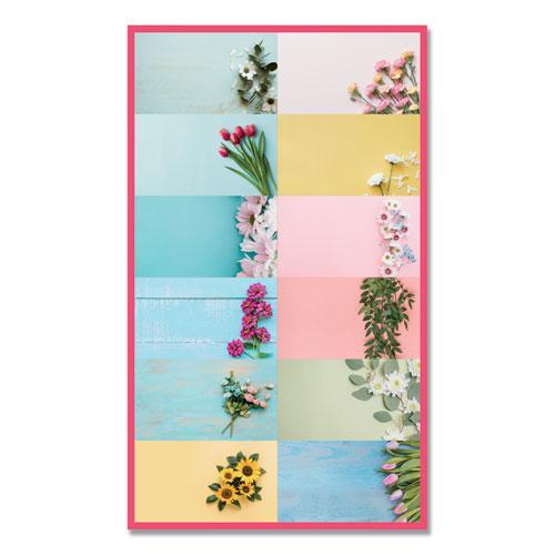 Romantic Wall Calendar, Floral, 8 x 11, 2021. Picture 2
