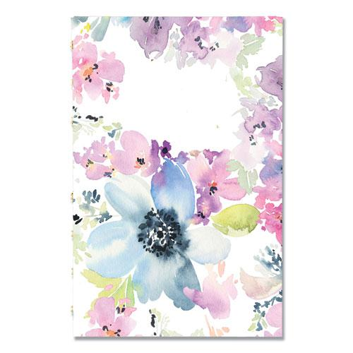 MiracleBind Weekly/Monthly Planner, 8 x 5, Floral, 2021. Picture 1