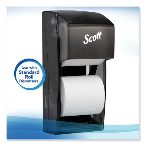 Essential 100% Recycled Fiber SRB Bathroom Tissue, Septic Safe, 2-Ply, White, 506 Sheets/Roll, 80 Rolls/Carton. Picture 3