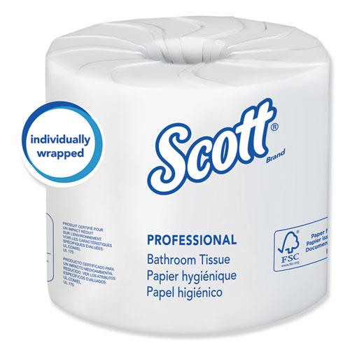 Essential 100% Recycled Fiber SRB Bathroom Tissue, Septic Safe, 2-Ply, White, 506 Sheets/Roll, 80 Rolls/Carton. Picture 1