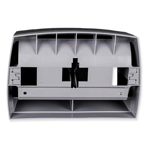 Essential Coreless SRB Tissue Dispenser, 11.1 x 6 x 7.63, Black. Picture 2