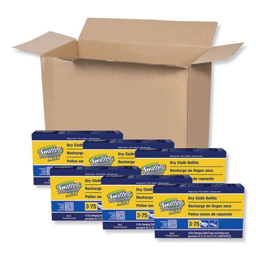 Max/XL Dry Refill Cloths, 17 7/8 x 10, White, 16/Box, 6 Boxes/Carton. Picture 1