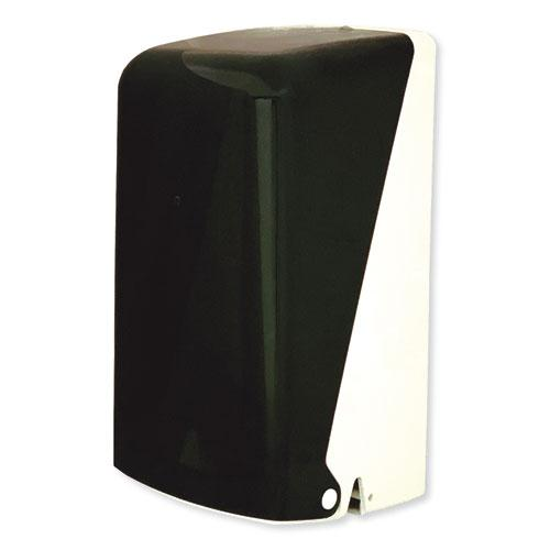 """Two Roll Household Bath Tissue Dispenser, 5.51"""" x 5.59"""" x 11.42"""", Smoke. Picture 1"""
