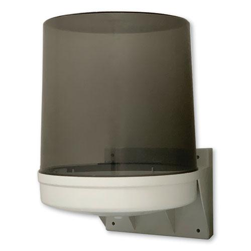 Center Pull Towel Dispenser, 10.5 x 9 x 14.5, Transparent. Picture 1