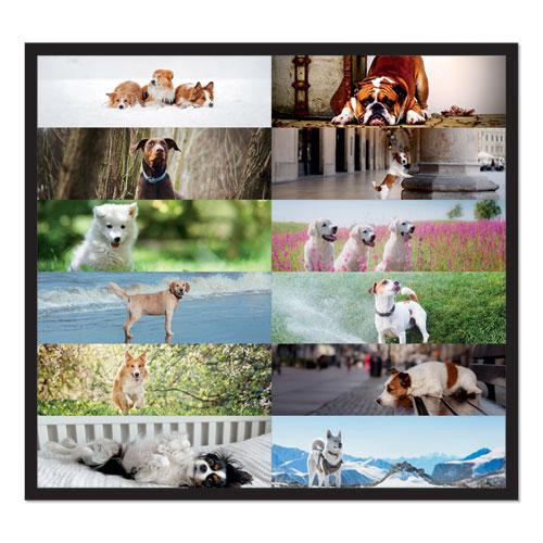 Pets Collection Monthly Desk Pad, 22 x 17, Puppies, 2021. Picture 2