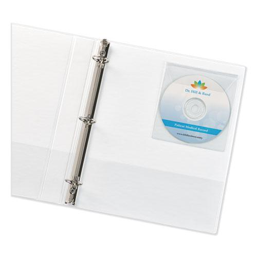 Self-Adhesive Media Pockets, 10/Pack. Picture 2