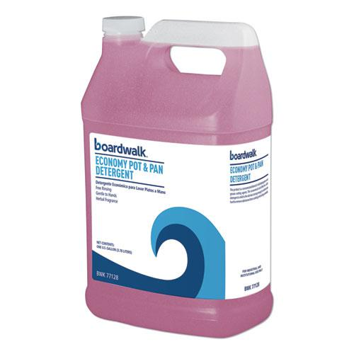 Industrial Strength Pot and Pan Detergent, 1 Gal Bottle. Picture 1
