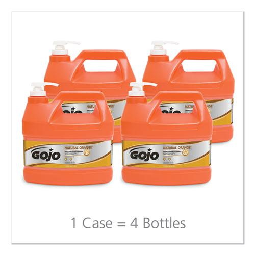 NATURAL ORANGE Smooth Hand Cleaner, Citrus Scent, 1 gal Pump Dispenser, 4/Carton. Picture 5