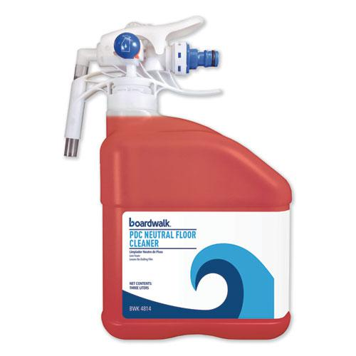 PDC Neutral Floor Cleaner, Tangy Fruit Scent, 3 Liter Bottle. Picture 1
