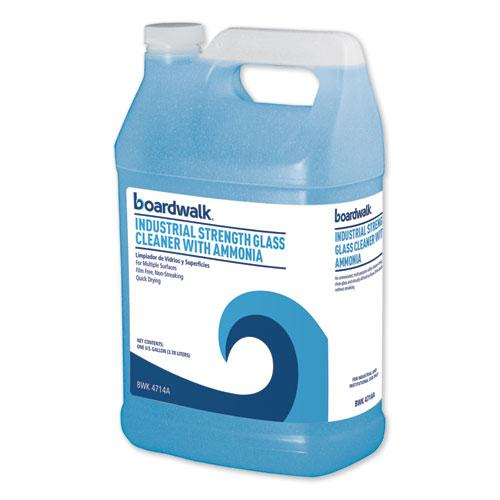 Industrial Strength Glass Cleaner with Ammonia, 1 Gal Bottle. Picture 1
