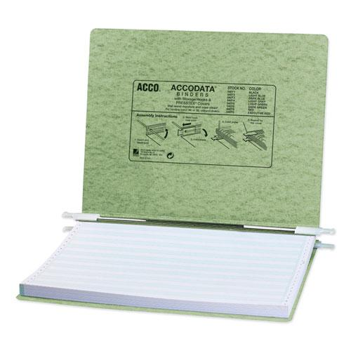"""PRESSTEX Covers with Storage Hooks, 2 Posts, 6"""" Capacity, 14.88 x 11, Light Green. Picture 1"""