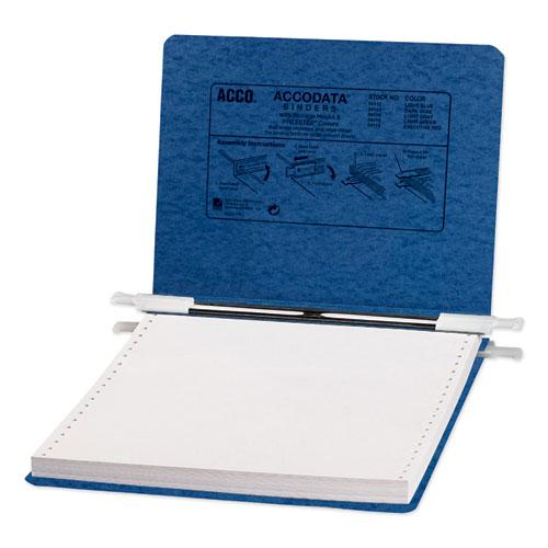 """PRESSTEX Covers with Storage Hooks, 2 Posts, 6"""" Capacity, 9.5 x 11, Dark Blue. Picture 1"""