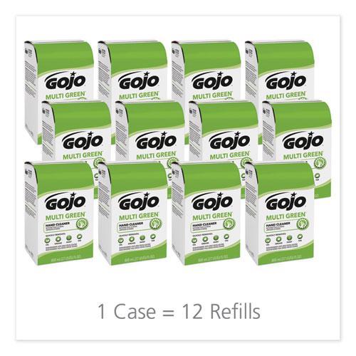 MULTI GREEN Hand Cleaner 800 mL Bag-in-Box Dispenser Refill, Citrus, 12/Carton. Picture 6