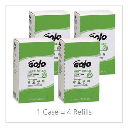 MULTI GREEN Hand Cleaner Refill, Citrus Scent, 2,000 mL, 4/Carton. Picture 3