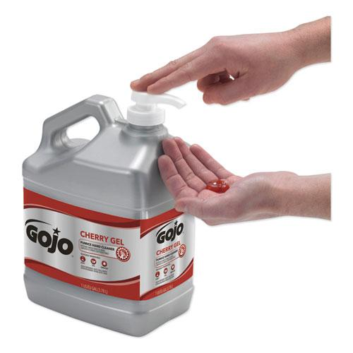 Cherry Gel Pumice Hand Cleaner, 1gal Bottle, 2/Carton. Picture 3