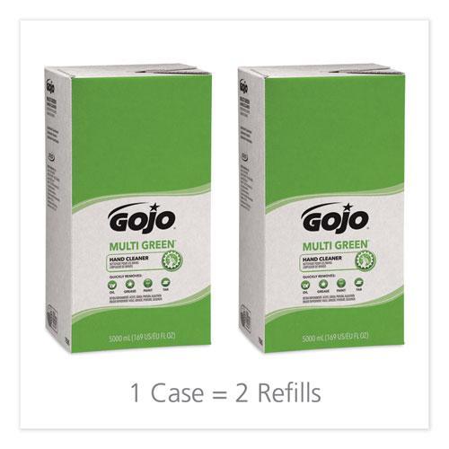 MULTI GREEN Hand Cleaner Refill, 5000mL, Citrus Scent, Green, 2/Carton. Picture 2