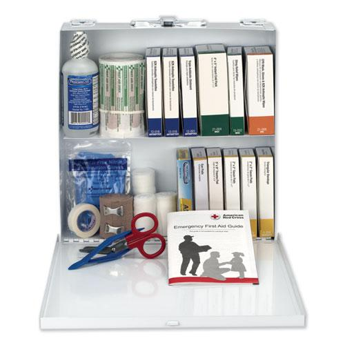 First Aid Station for 50 People, 196-Pieces, OSHA Compliant, Metal Case. Picture 3
